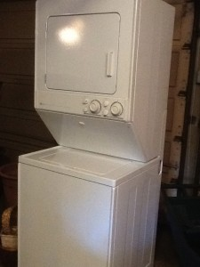 Maytag Stacked W/D