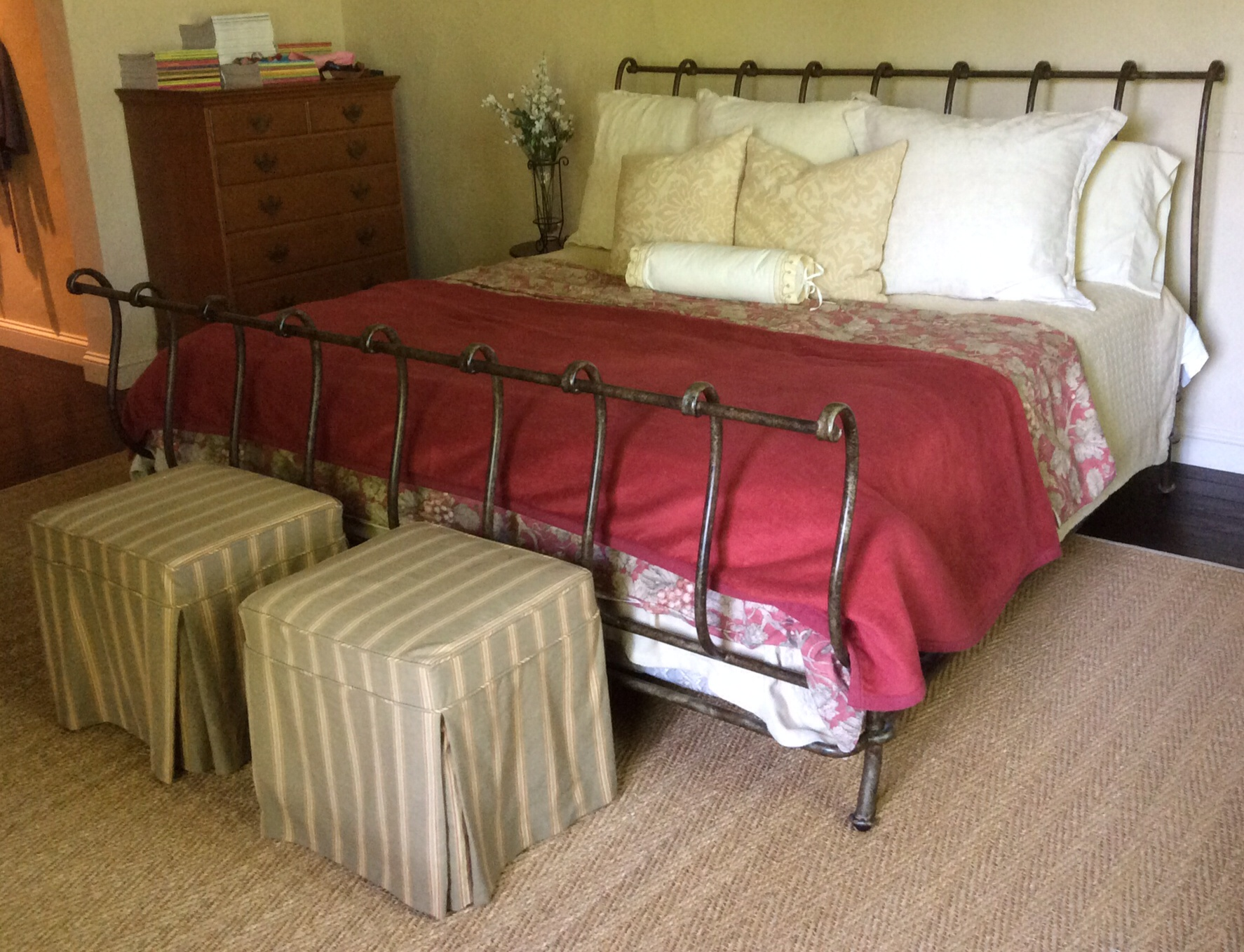 king size sleigh bed frame wood home design ideas